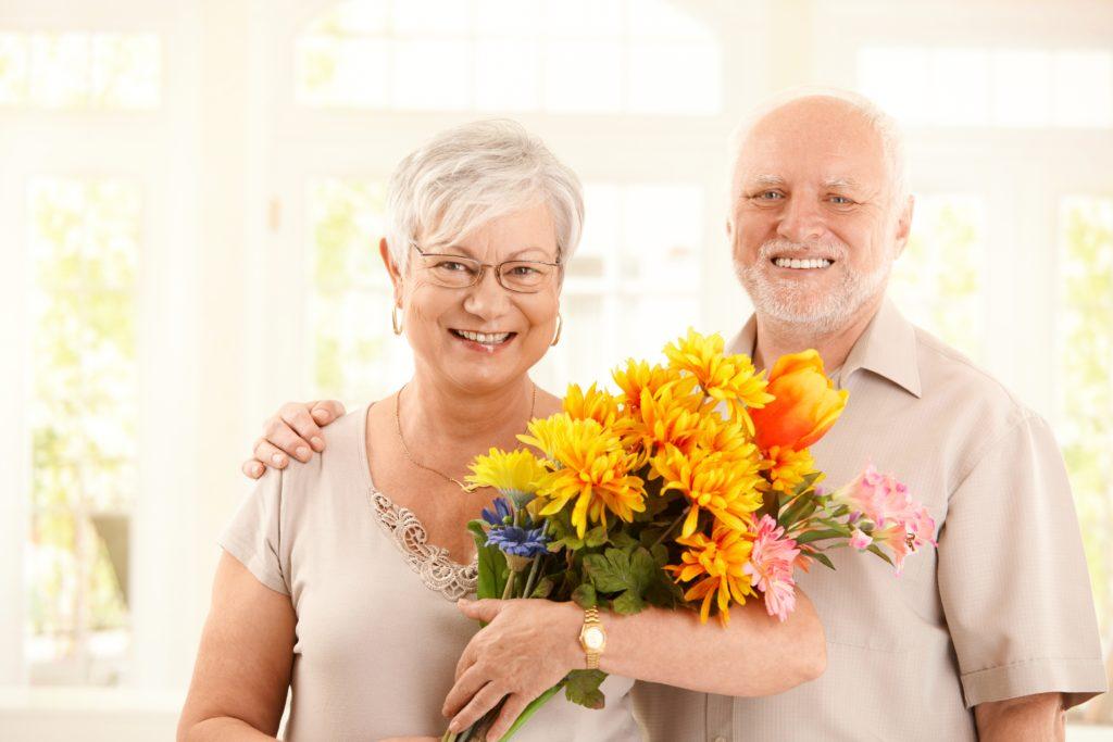 kwiaty na dzień babci